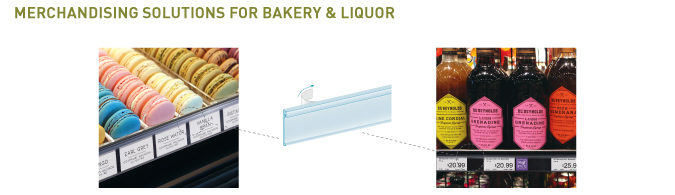 Bakery and Liquor Merchandising Solutions