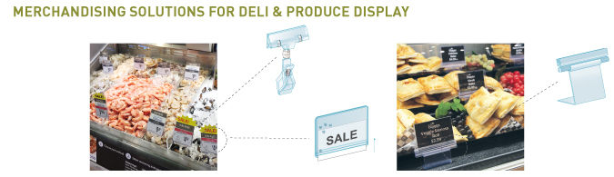Deli and Produce Merchandising Solutions