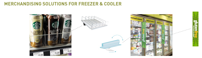 Freezer and Cooler Merchandising Solutions 2