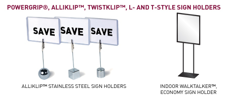 Sign Holders