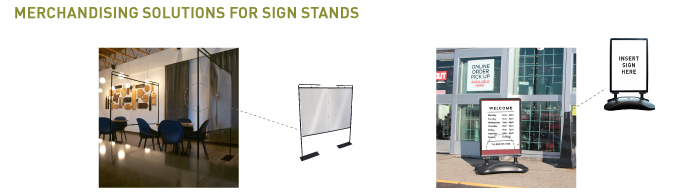 Sign Stands 1