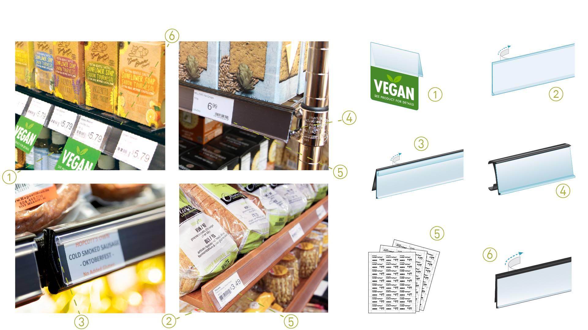 shelf edge labeling systems