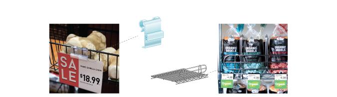 Wire Shelf Merchandising Solutions